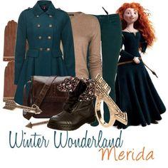 Winter Wonderland: Merida - Polyvore