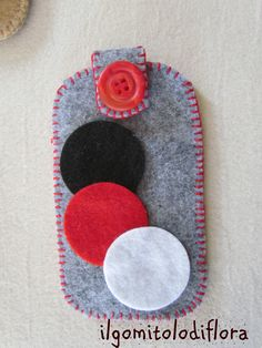 case for iphone in felt