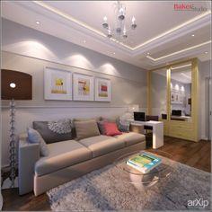 GAGARINO: интерьер, квартира, дом, современный, модернизм, комната, номер, палата, 10 - 20 м2 #interiordesign #apartment #house #modern #room #10_20m2 arXip.com