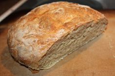 Home Made Artisan Bread - prepared in minutes and ohhh sooo good!