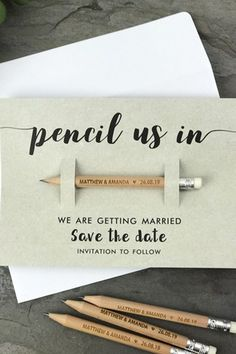 Make homemade save-the-date cards, with tips from BRIDESMAGAZINE.CO.UK (BridesMagazine.co.uk)