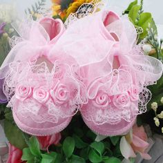 Baby Girls First Walkers Pink Flowers Lace Newborn Baby Shoes Soft Sole 2 Colors New 2016 ZC2 SMS - F A S H I O N http://www.sms.hr/products/baby-girls-first-walkers-pink-flowers-lace-newborn-baby-shoes-soft-sole-2-colors-new-2016-zc2/ US $1.33