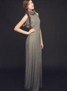 Luna dress,  Dress, designer-fashion-trend-dress-long dress-tencel-wool-, Chic