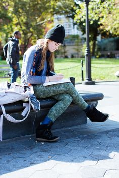 College Style! 46 NYC Students Who Aced It #refinery29  http://www.refinery29.com/55424#slide2  Kristen, 19, NYU Freshman, undecided