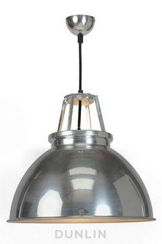 Titan 3 Pendant Light. Polished Aluminium