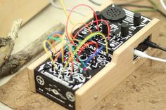 Bent-Tronics: Announcing bitRanger, a weird handheld modular synth crammed with over 100 patch points