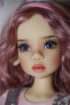 Dolls & Other Things Doll Face Paint, Doll Painting, Tiny Dolls, Ooak Dolls, Pretty Dolls, Beautiful Dolls, Doll Making Tutorials, Realistic Dolls, Polymer Clay Dolls