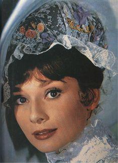 Audrey Hepburn, beautiful close-up of her