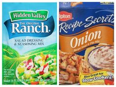 Home made ranch and onion soup seasoning is so flavorful! Once you try this you'll never go back to the store bought!