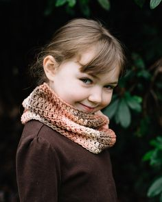 Full of spunk, this handmade infinity scarf is cozy and delightful. Made of 100% cotton, this piece will keep your little one warm and stylish