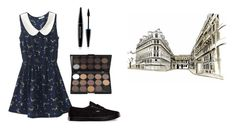 """Untitled #13469"" by jayda365 ❤ liked on Polyvore featuring Vans and MAKE UP FOR EVER"