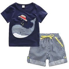 Cheap pants classic, Buy Quality pants costume directly from China pants linen Suppliers: Cotton Kids Boys Clothes Children Clothing Sets Summer Baby Boy Clothes Cute Whale Children's Sets T-Shirt Denim Pants Baby Boy Clothing Sets, Newborn Boy Clothes, Baby Outfits Newborn, Baby Boy Outfits, Toddler Outfits, Children Clothing, Infant Clothing, Boy Newborn, Guy Clothes