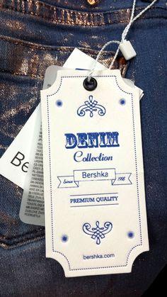 Bershka #hangtag: