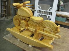 Wooden Rocking Horse Patterns | Wooden Rocking Motorcycle