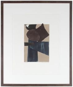 """32888- Rob Delamater, 2013, Monotype on Paper, 22""""x26"""" Framed, $485 #abstract #monotype"""