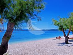 Zivogosce Blato like Mala Duba is ideal for the family. USEFUL TIPS: Parking fee during high season (mid June-mid September) is approximately EUR… Riviera Beach, Croatia, Beaches, Outdoor Decor
