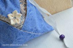 Come cucire un sacchetto origami in modo veloce – Cucire a Macchina Origami, Napkin Rings, Bags, Decor, Handmade Handbags, Tote Purse, Pouch Bag, Handbags, Decoration