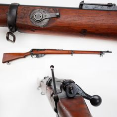 British Long Lee-Enfield Mark I Rifle - The GOTD was one of many .303 ca bolt-action models in service, but on its left side was located a set of volley fire sights graduated out to ranges far beyond the regular barrel-mounted sights. With the smooth bolt mechanism of the Lee-Enfield, & using the deployed volley aperture sights, a squad of experienced riflemen could empty the 10-shot magazine quickly enough to make opponents down range feel that they were receiving fire from machine guns.