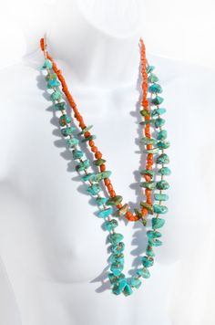 Tribal Hippie Long Beaded Stone Layered by theELEPHANTpink on Etsy, $45.50