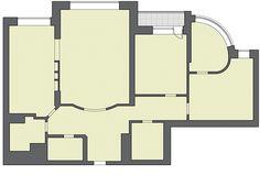 Владельцы просторной (около 140 м²), обжитой трёхкомнатной квартиры, семейная пара с двумя сыновьями 7и 3лет, обратились к архитектору с просьбой разработать дизайн-проект квартиры, ч