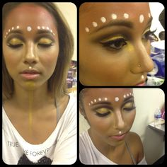 Tribal inspired makeup