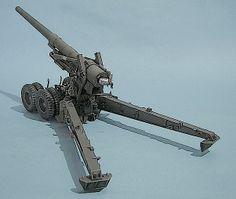 M59 155mm artillery gun - Long Tom/2