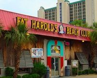 Shagging at Fat Harold's Beach Club