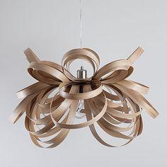 Butterfly Pendant Light - oak