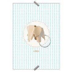 """Poster Cadeira """"Banco Elefante"""" - Coleção Mercatto Casa e Apto 41"""