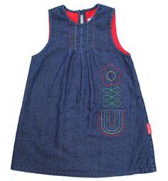 Denim Rainbow Pinafore Dress £27.99/29.99