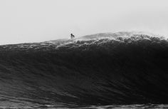 Five images presented in simple shades of gray from Rob Gilley's archive. #surfer #surferphotos
