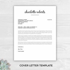 Resume Template For Kids Professional Minimalist Resume Template Cv Template Printable .