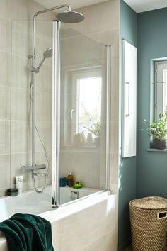 Home Remodeling, Bathroom Remodeling, Washroom, Bathtub, Design, Decor, Hanging Plants, Remodels, Storage