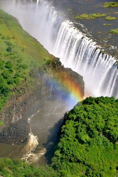 Victoria Falls-  flying in we could see the spray from the falls many miles out- what a majestic sight.