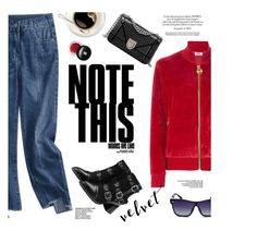 Velvet style by yexyka on Polyvore featuring polyvore fashion style GCDS Edward Bess clothing