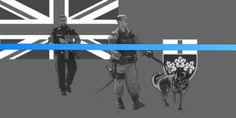 Ontario police thin blue line