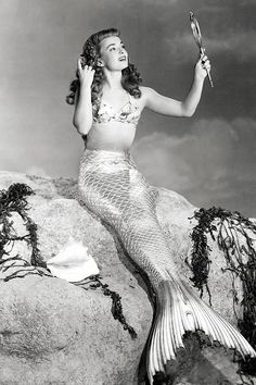 Ann Blyth in a publicity photo for Mr. Peabody and the Mermaid (1948)
