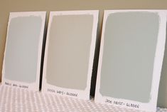 Oversized Paint Samples - simply organized