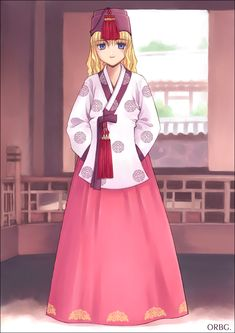 Hanbok - 2 by orbg.deviantart.com on @DeviantArt