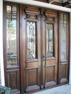 We were able to provide our client with gorgeous, refurbished antique doors that truly emphasize the beauty of hand crafted design. #antiquedoors #curbappeal #amighini