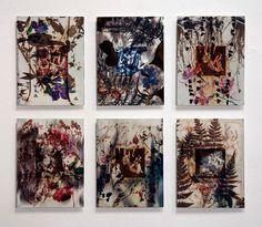 """""""FLORENCIO MAÍLLO. DEL JARDÍN DEL BOSCO"""". MNAD, C/ Montalbán 12, 28014, Madrid. Composición-09. Florencio Maíllo, """"Del Jardín del Bosco -6203, 6234, 6200, 6215, 6217, 6216"""", unidad 52x69 cm., técnica mixta sobre aluminio, 2014-16.   http://www.iberoprinter.com/elbosco/  http://www.mecd.gob.es/mnartesde…/exposiciones/actuales.html  #maillo #florenciomaillo #feltrero #elbosco #bosco @mnad_madrid #MailloMNAD #museonacionaldeartesdecorativas #mnad #madrid #usal"""