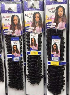New Arrival Women 22 Freetress Water Wave Braid Hair Extension Crochet Synthetic Hair New Arrival Women 22 Freetress Water Wave Braid Hair Extension Crochet Synthetic Hair # crochet Braids water wave Box Braids Hairstyles, Black Girl Braided Hairstyles, Twist Hairstyles, Side Curly Hairstyles, Hairstyles Videos, Curly Crochet Hair Styles, Crochet Braid Styles, Crochet Weave Hairstyles, Crochet Afro