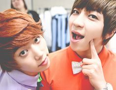 hoon and soohyun(: