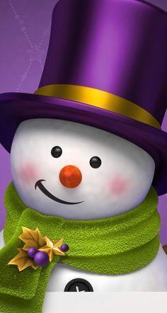 Cute Christmas Wallpaper, Holiday Wallpaper, Winter Wallpaper, Christmas Time, Christmas Crafts, Merry Christmas, Christmas Decorations, Christmas Ornaments, Snowman Wreath