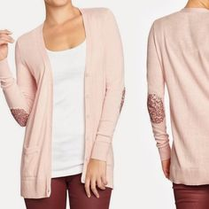 Old Navy embellished sleeves pink cardigan Very good condition. Old Navy Sweaters Cardigans