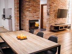 home decor styles checks Brick Interior, Interior Design Boards, Interior Design Living Room, Living Room Designs, Home Decor Trends, Home Decor Styles, Cheap Home Decor, Home Living Room, Kitchen Design