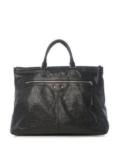 Weekender Balenciaga bag.