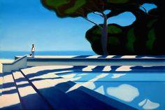 Landscape Illustration, Digital Illustration, Dream Painting, Galerie D'art En Ligne, Art Original, Unusual Art, Pulp Art, Oeuvre D'art, Oeuvres