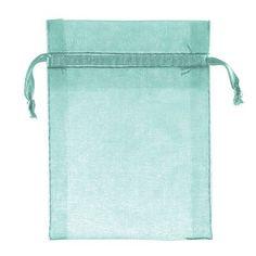 Amscan Organza Bag Color: Blue