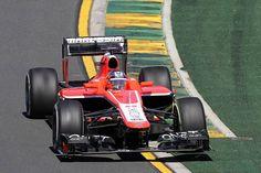 Jules Bianchi on track on Friday - 2013 Australian GP